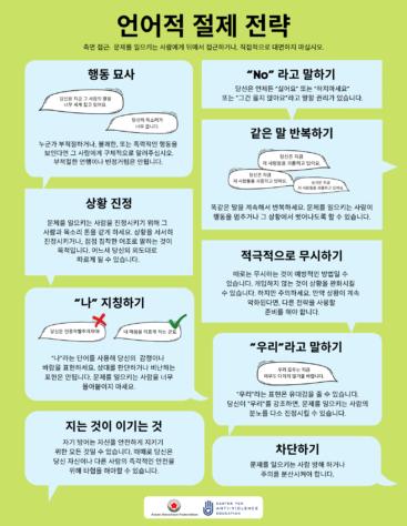 Korean Verbal De-Escalation